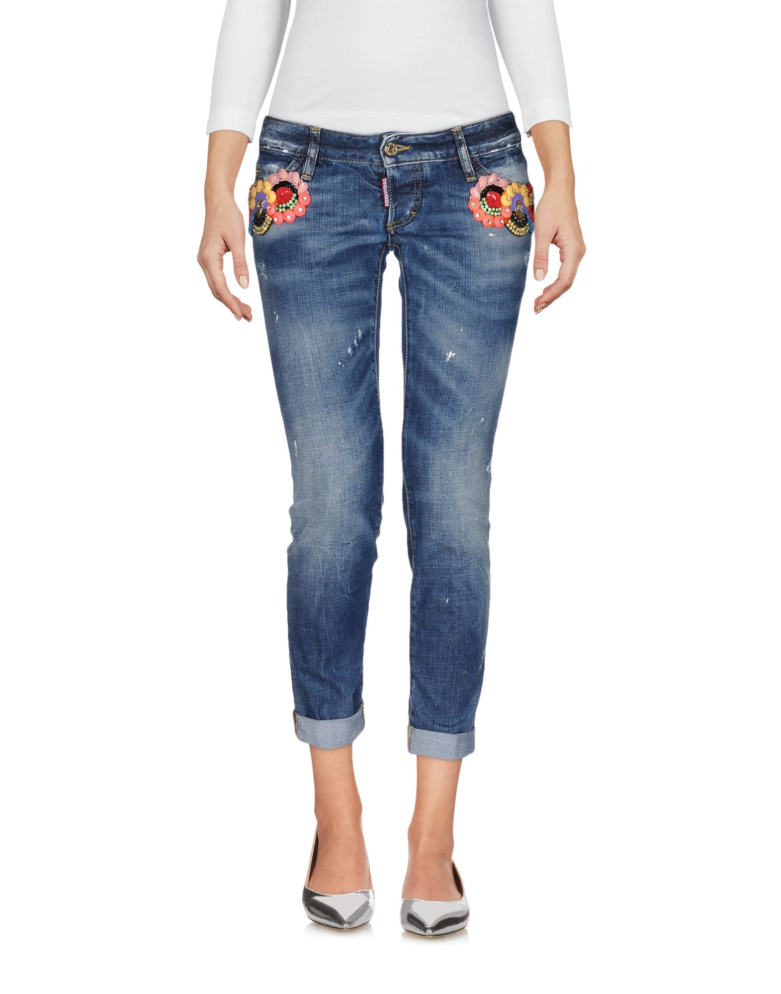 Pantaloni Jeans Dsquared2 Donna - Acquista online su Qeriob9