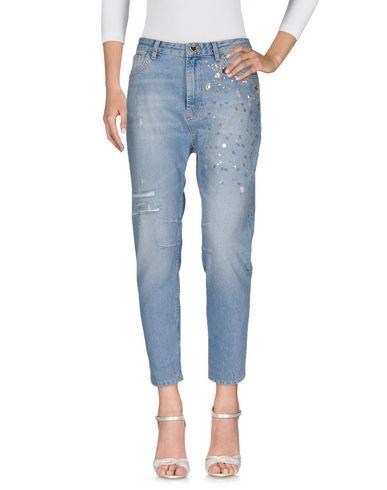 Twin-Set Jeans Denim Pants - Women Twin-Set Jeans Denim Pants online on YOOX United States - 42560168BV