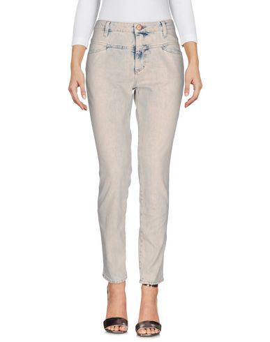 closed jeans damen hosen closed auf yoox 42570760al. Black Bedroom Furniture Sets. Home Design Ideas