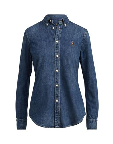 8f43d3edc Camisa Vaquera Polo Ralph Lauren Slim Fit Denim Shirt - Mujer ...