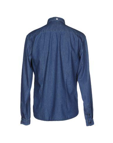 super~~POS=TRUNC Flekk J Camisa Vaquera clearance 2015 nye salg rask levering forhåndsbestille exuMwz