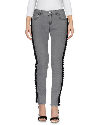 AU JOUR LE JOUR Denim Pants in Grey