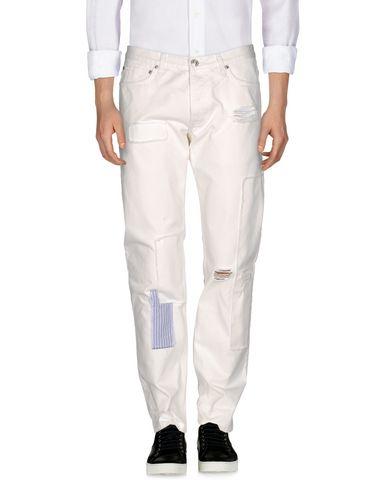 SOULLAND Denim Pants in White