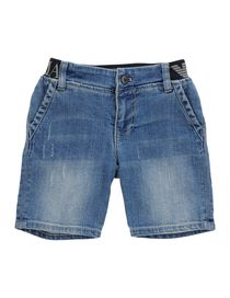 ARMANI JUNIOR - Denim shorts