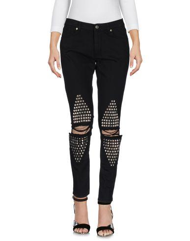 Gaëlle Paris Denim Pants - Women Gaëlle Paris Denim Pants online on YOOX United States - 42589705LE