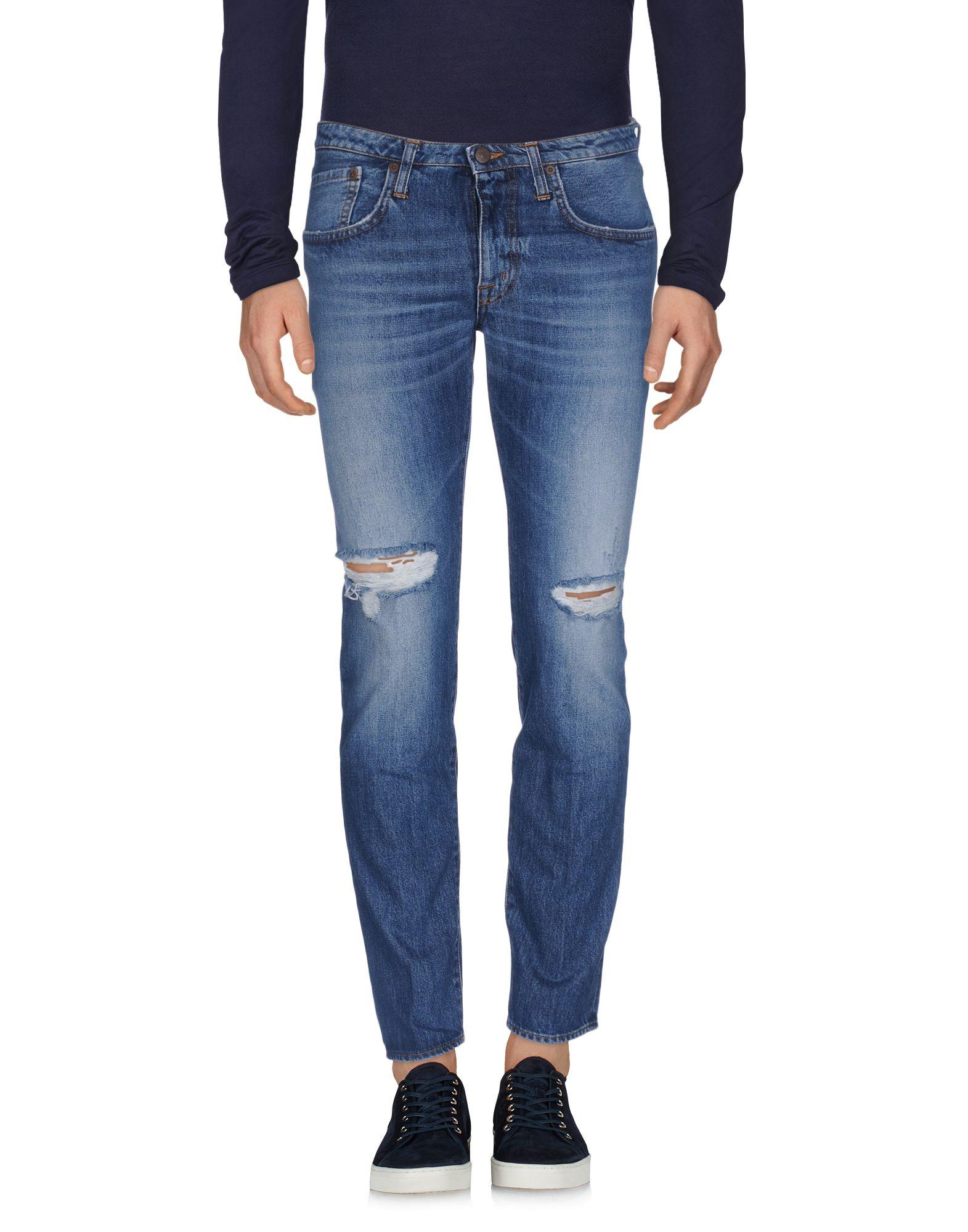 Pantaloni Jeans (+) People herren - 42592969GH