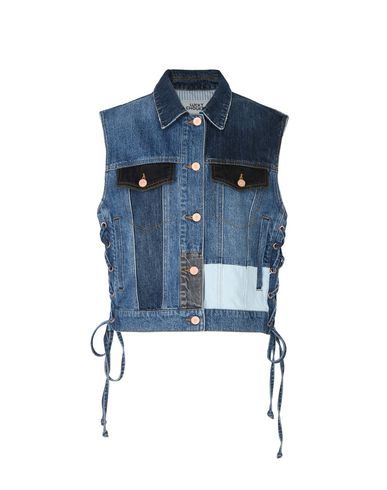 CHOUETTE CHOUETTE LUCKY LUCKY CHOUETTE Jeansjacke LUCKY LUCKY Jeansjacke Jeansjacke qwvgAwFOa