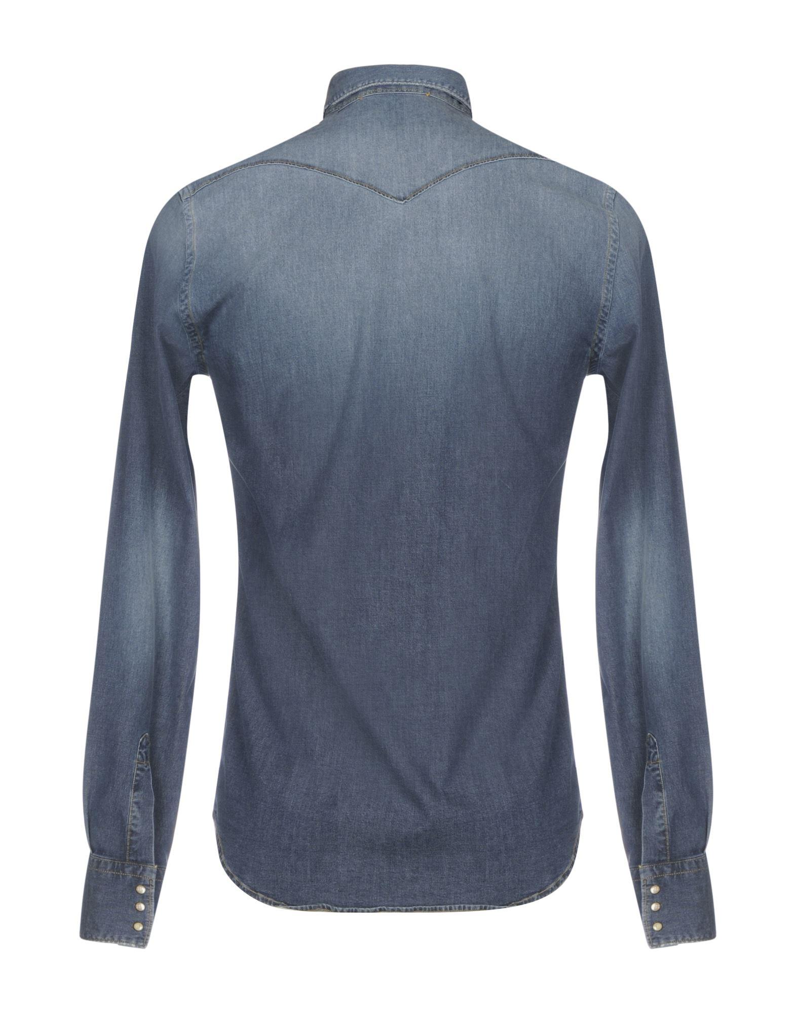 Camicia 42599656WB Jeans Aglini Uomo - 42599656WB Camicia 94207d