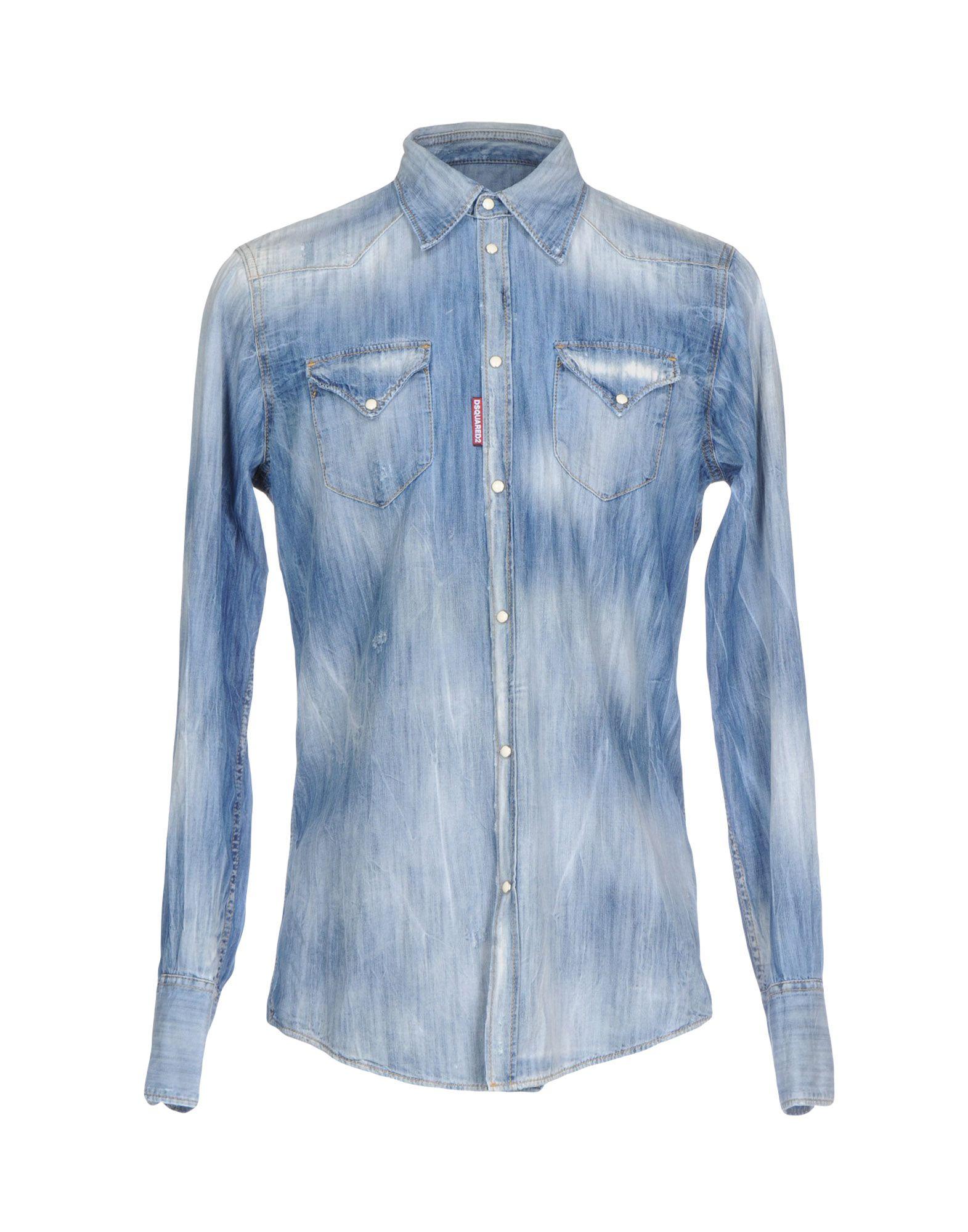 Camicia Jeans Dsquared2 Uomo - Acquista online su