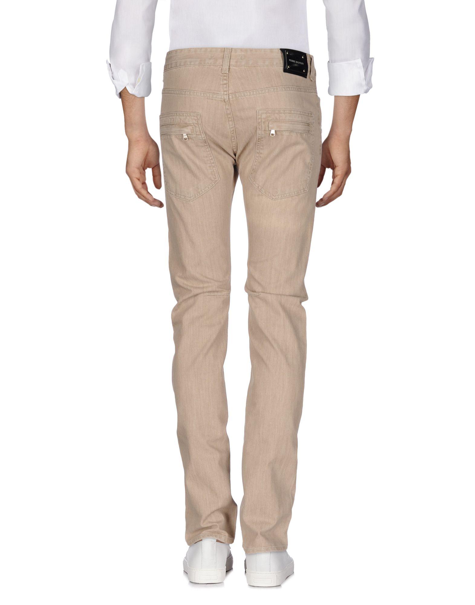Pantaloni Jeans Pierre Pierre Pierre Balmain Uomo - 42603410DH a60a09