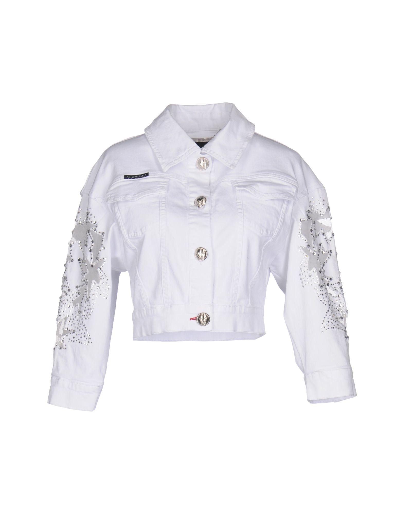 Denim Jacket Philipp Women Plein vNnwOm80