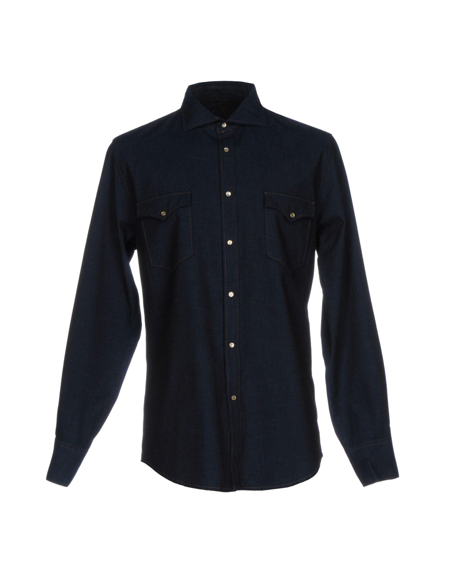 Camicia Jeans Jeans Camicia (+) People Uomo - 42605191GA 40bddc