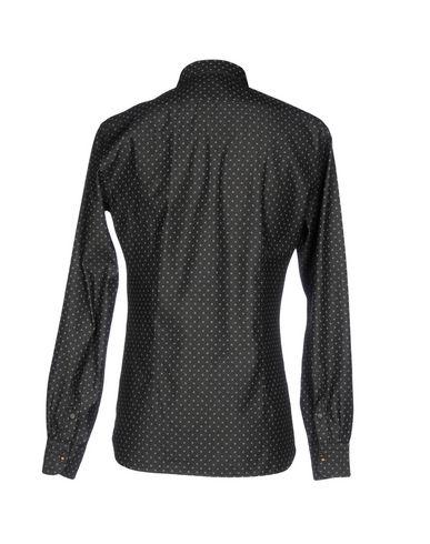 klaring største leverandøren Aglini Denim Shirt billige rabatter tilbud klaring eksklusive 6WElXpg8WT