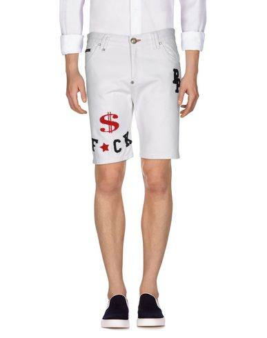 PHILIPP PLEIN - Denim shorts