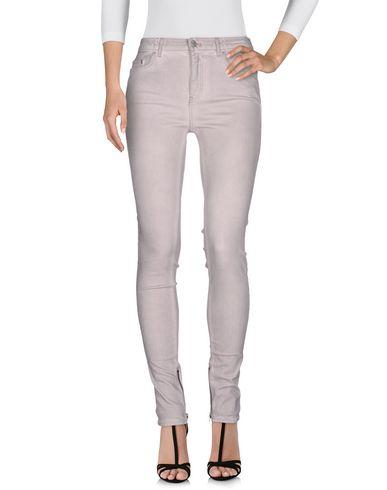 BLK DNM Denim Pants in Light Grey