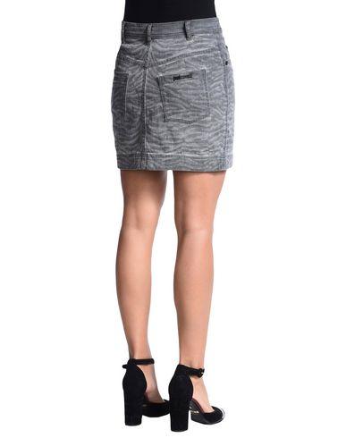 just cavalli denim skirts in grey modesens