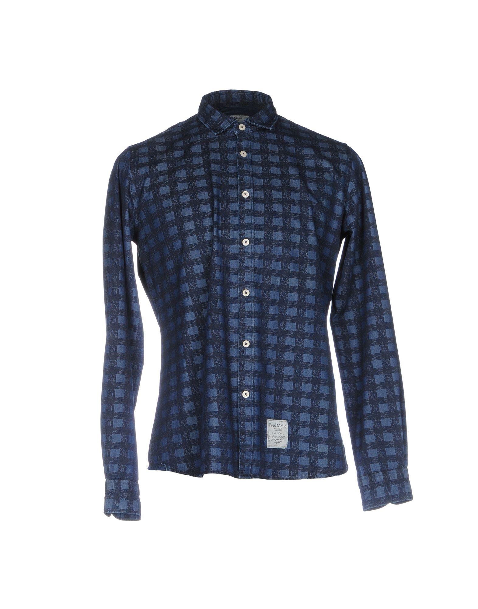 Camicia Jeans Frosso Mello Uomo Uomo Uomo - 42617318NR 8dfb65