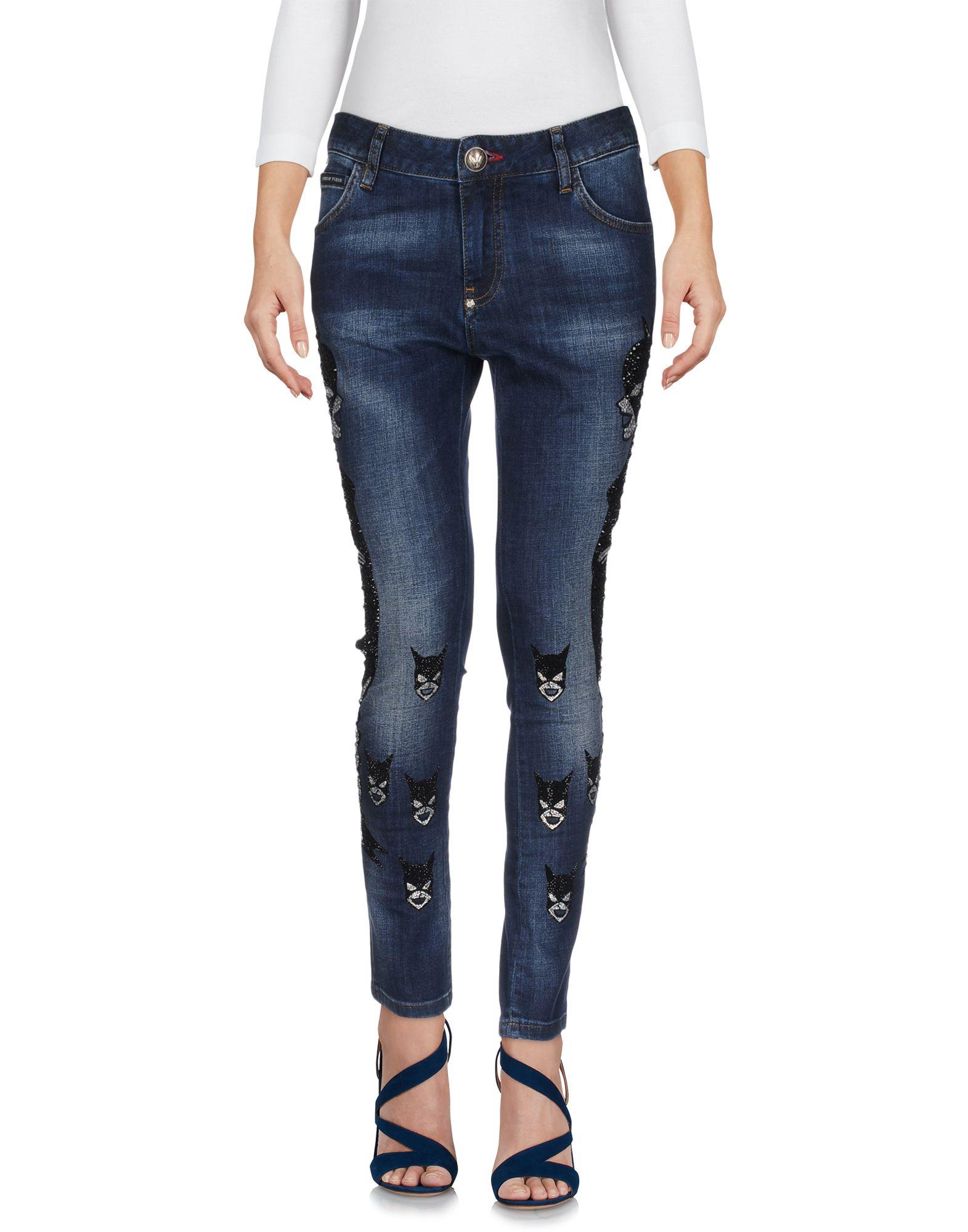 Pantaloni Jeans Philipp Philipp Philipp Plein donna - 42618858DW a2d
