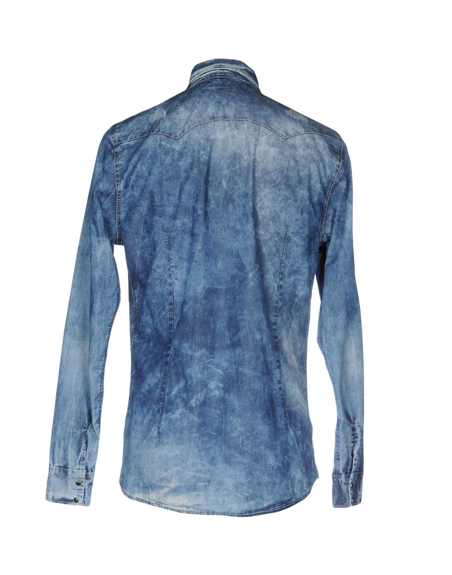 Camicia Jeans 42619840KI Daniele Alessandrini Uomo - 42619840KI Jeans 10f7e6
