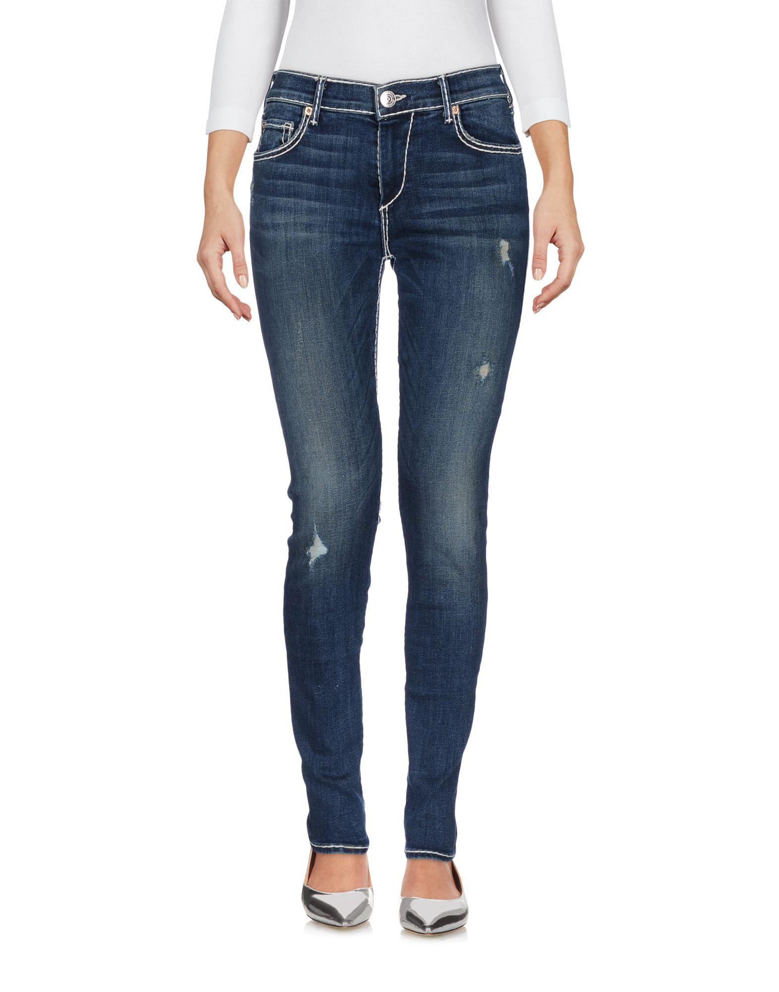 Pantaloni Jeans True Religion Donna - Acquista online su YOOX - 42622607KS