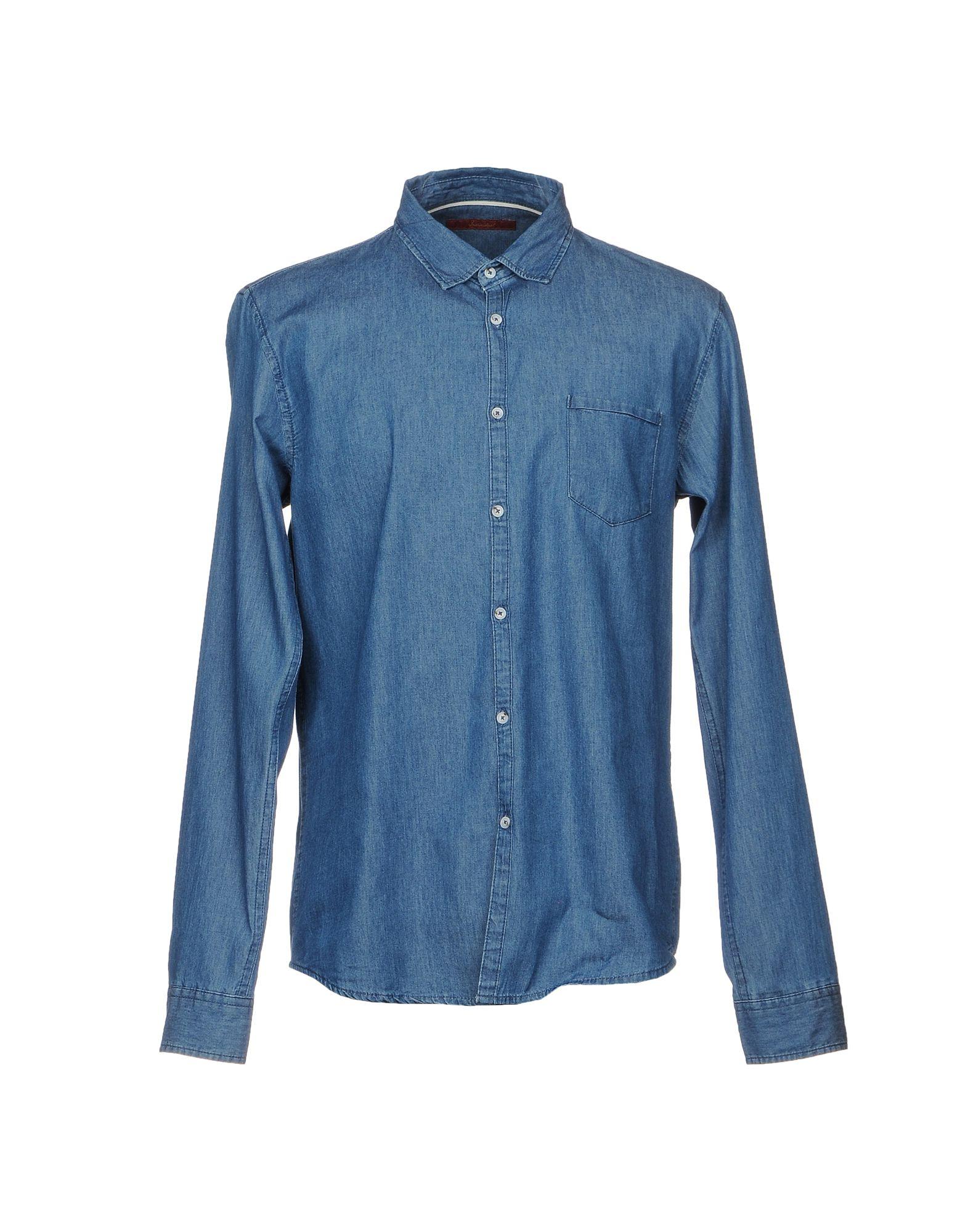 Individual Denim Shirt Men Individual Denim Shirts online on YOOX