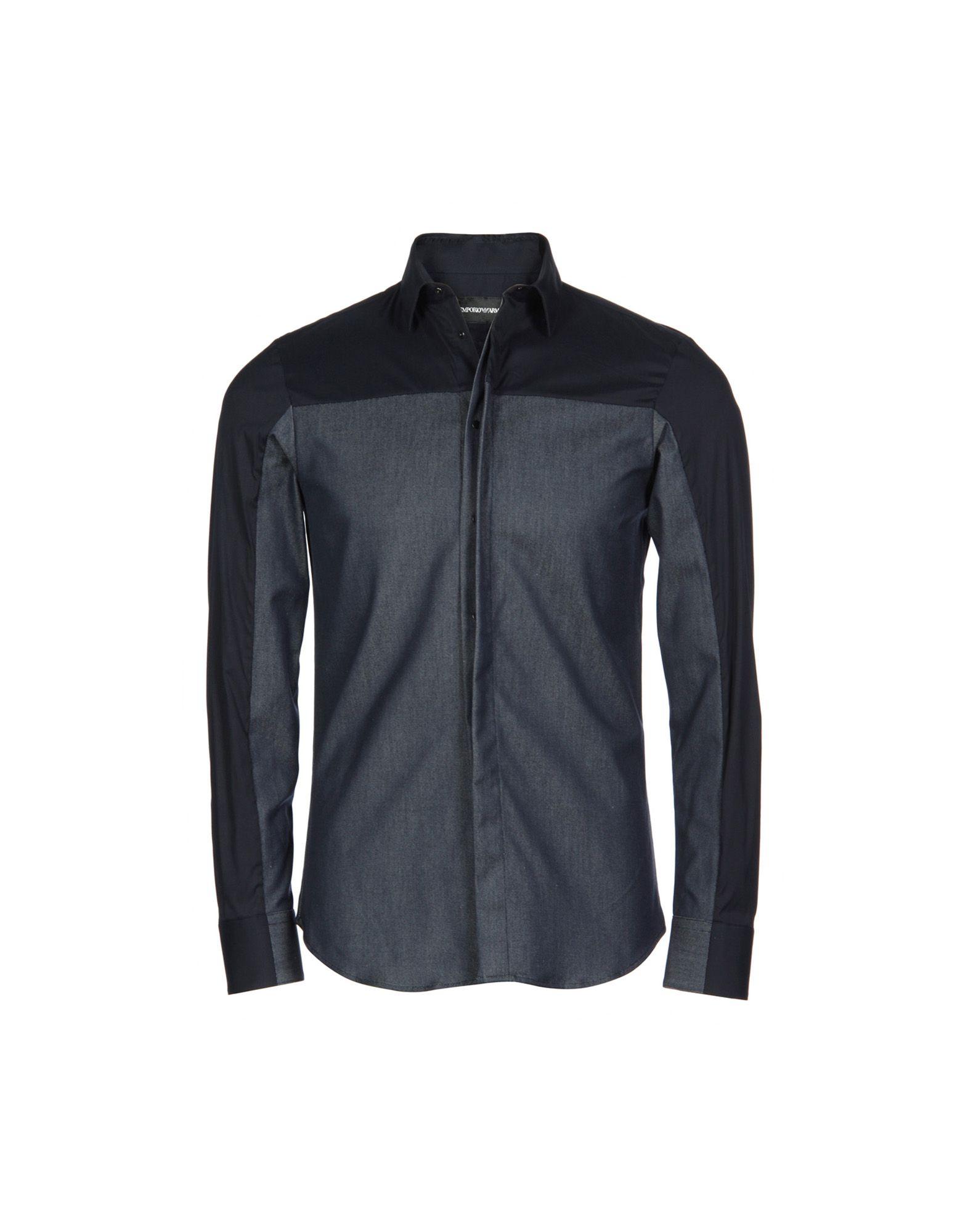 Camicia Jeans Emporio Armani Uomo - Acquista online su