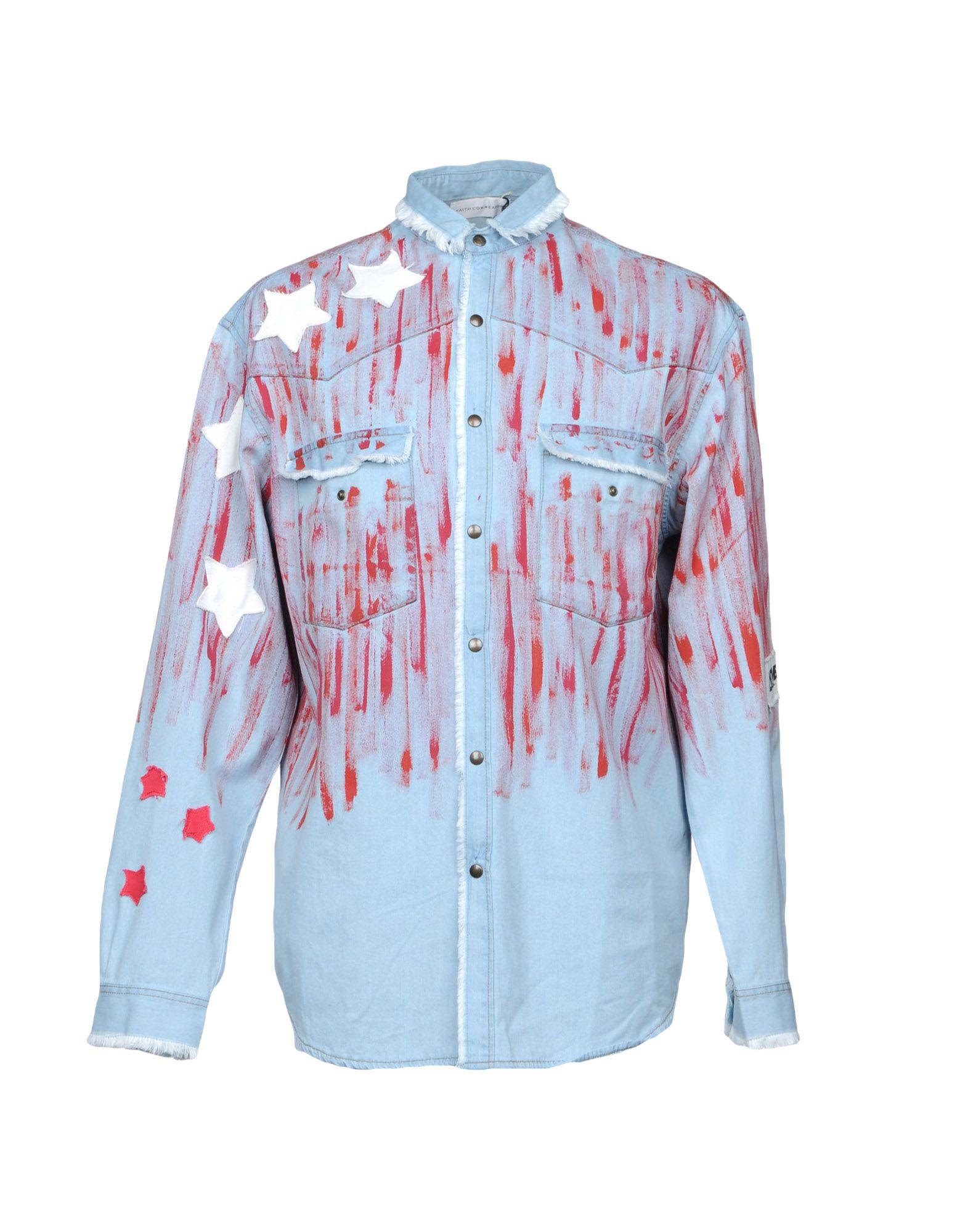 Camicia Jeans Faith Connexion Uomo - Acquista online su