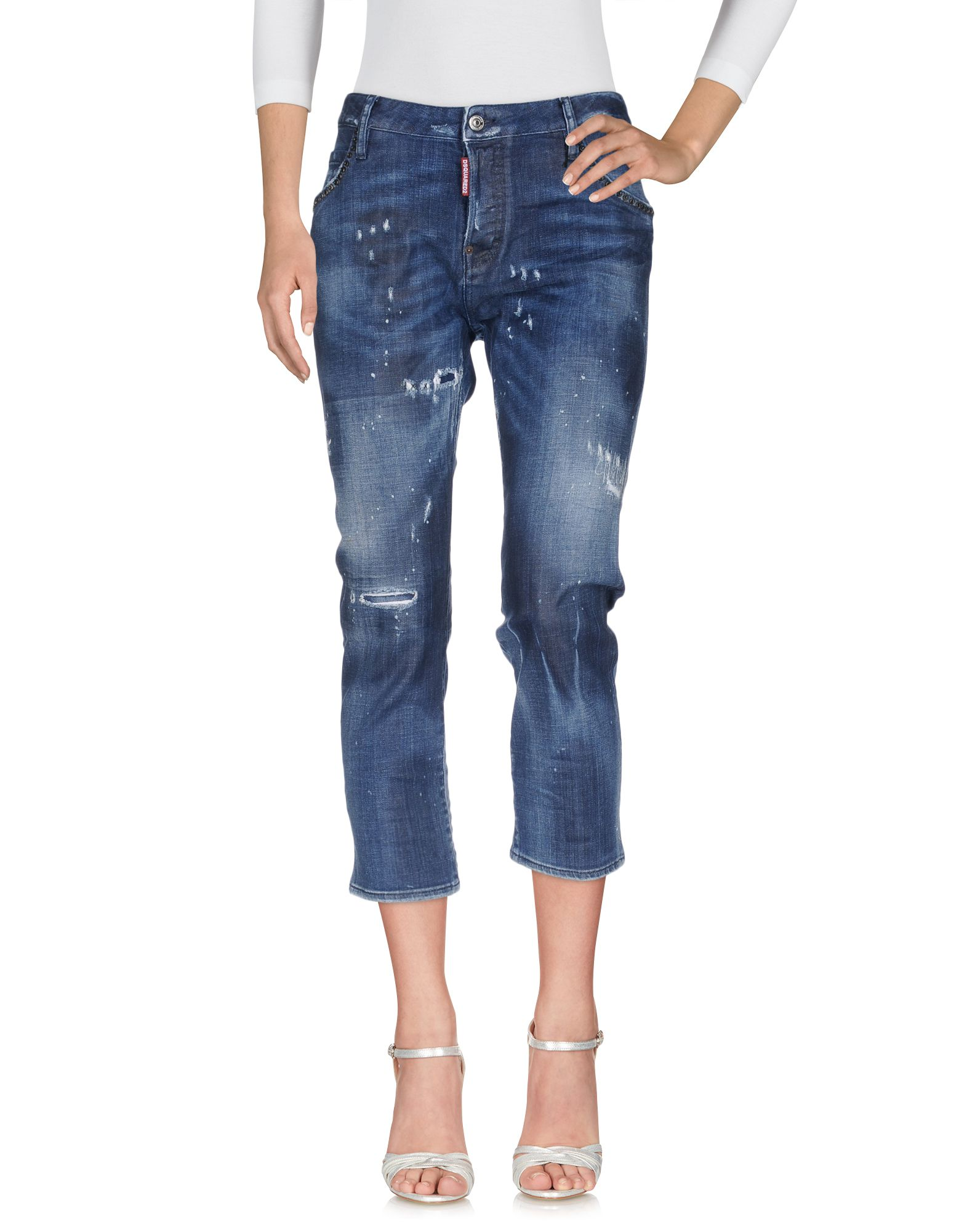 Pantaloni Jeans Dsquarosso2 donna - 42626124KG