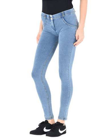 CARRYOVER WRUP SNUG COTTON STRETCH - TROUSERS - Casual trousers Freddy Cheap Factory Outlet Prices Cheap Online Good Selling Sale Online PGAkg97JN
