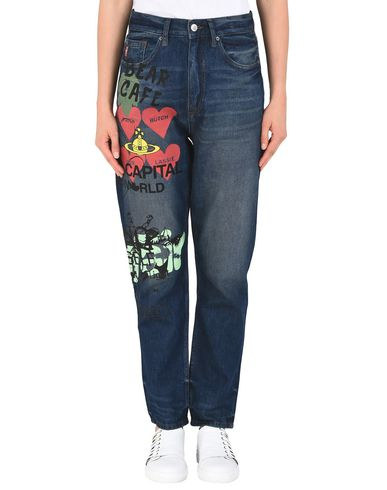 Vivienne Westwood Anglomania Skytte Jeans Meaningless - Denim Pants ... 7628adb26