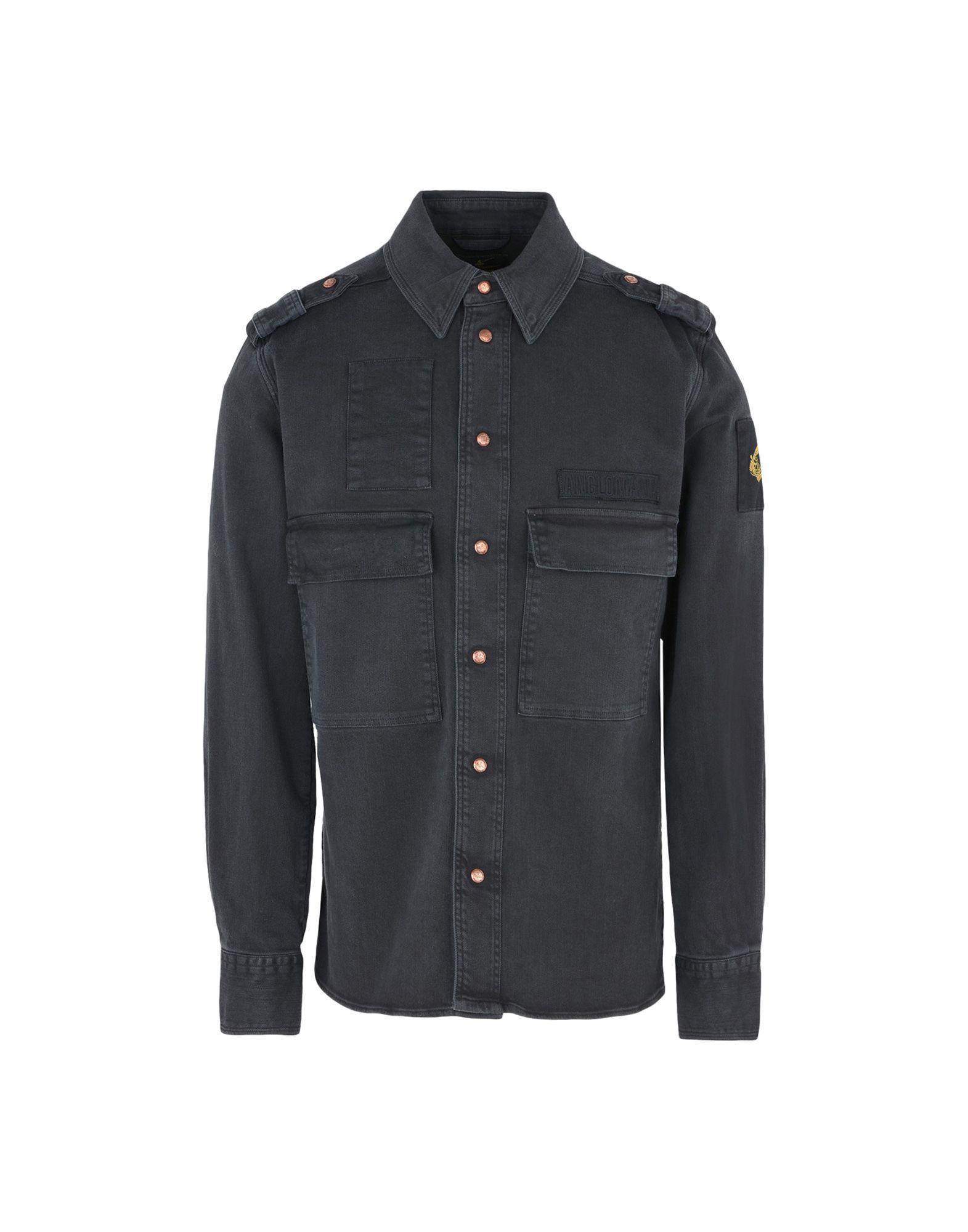 Giubbotto Jeans Vivienne Westwood Anglomania Berry Shirt - Uomo - Acquista online su