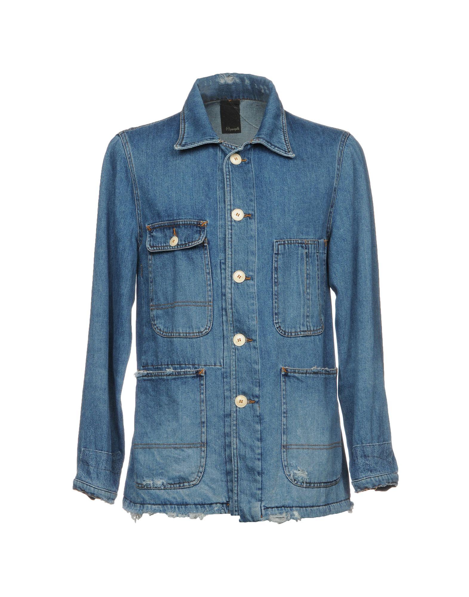 Giubbotto Jeans (+) People Uomo - Acquista online su