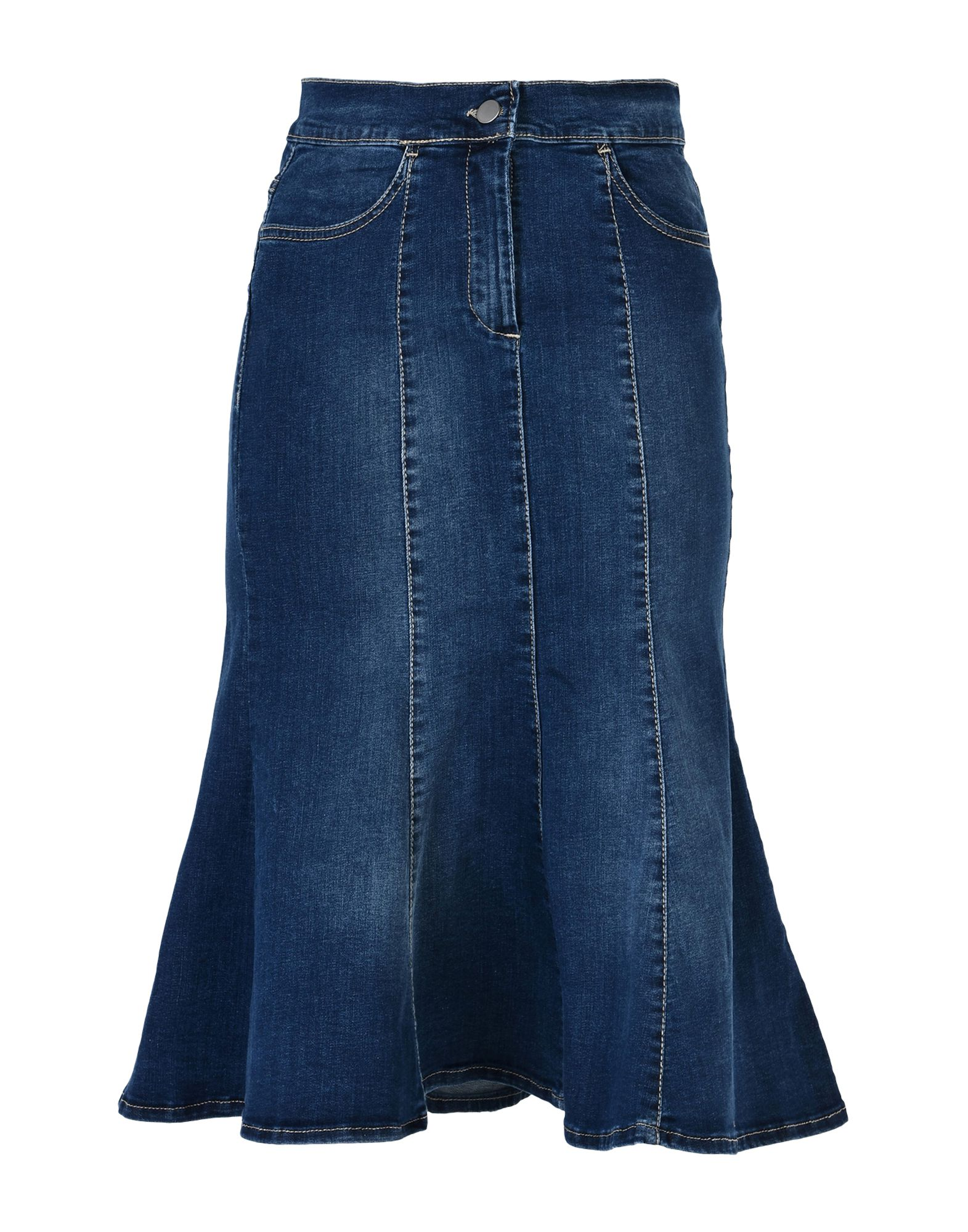 Favoloso Jean skirts online: mini jean skirts, long and short jean skirts  PG56