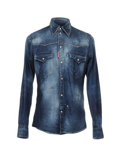 Dsquared2 Denim Shirt - Men Dsquared2 Denim Shirts online on YOOX ... dd82e947465