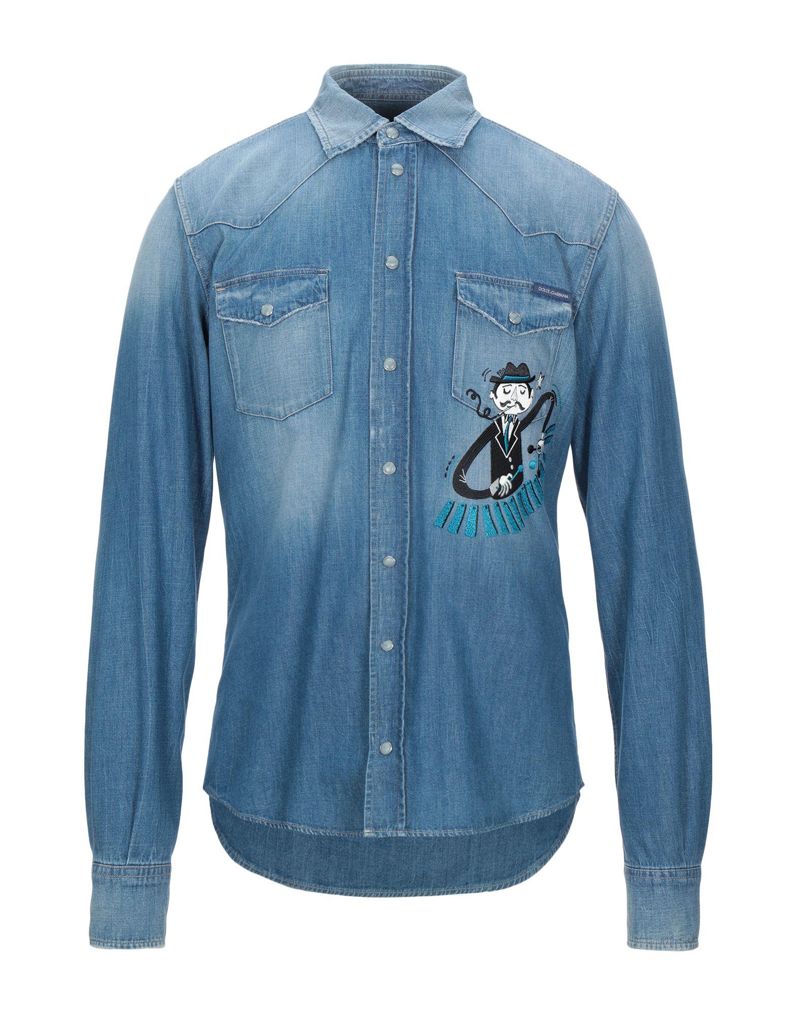 Camicia Jeans Dolce & Gabbana - Uomo - Gabbana 42630869VC 6d8afc