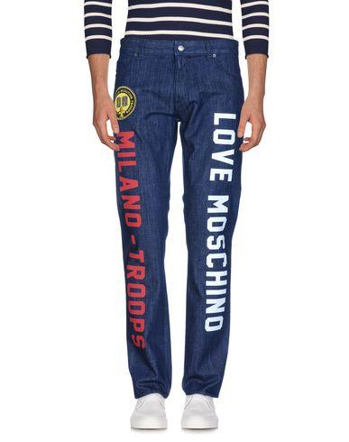 Elsker Moschino Jeans mållinja billig online footaction online billig salg forsyning 3wyMgQw