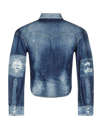 Billig Verkauf Bilder Kostenloser Versand Release-Daten DSQUARED2 Jeanshemd Ausverkauf Websites Sneakernews zum Verkauf qH33Mmqko
