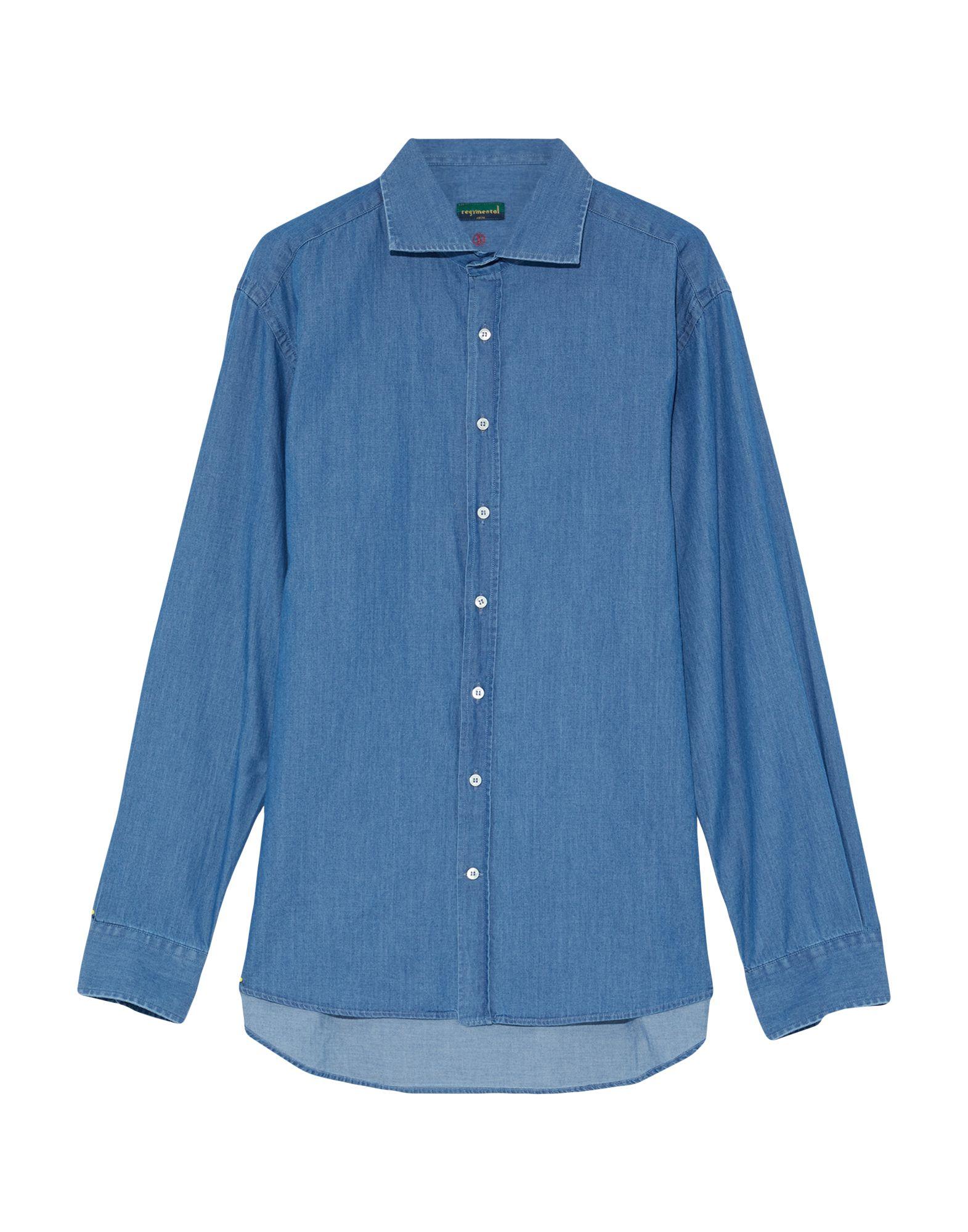 Camicia Jeans - Regimental Uomo - Jeans 42633695XE 31e216