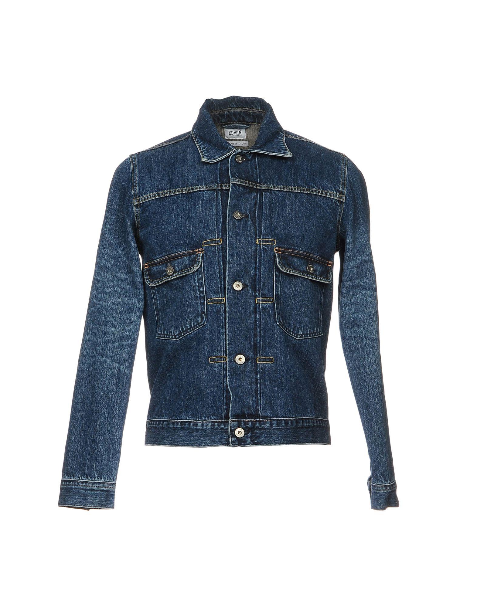 Giubbotto Jeans Edwin Uomo - Acquista online su