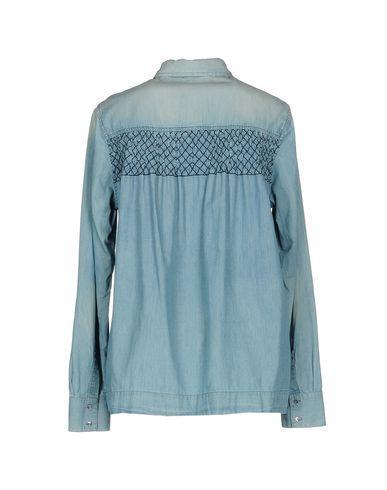 Pinko Denim Shirt salg visa betaling I2exQzjh