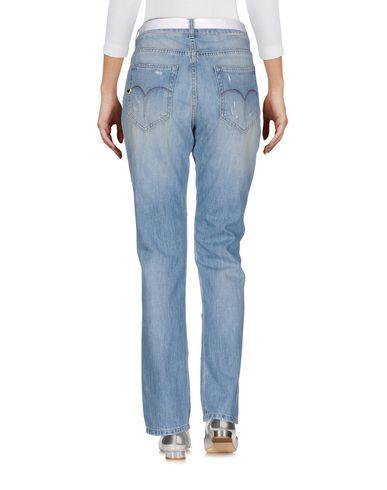 Twin-set Jeans Pantalones Vaqueros hvor mye online moF54Fc