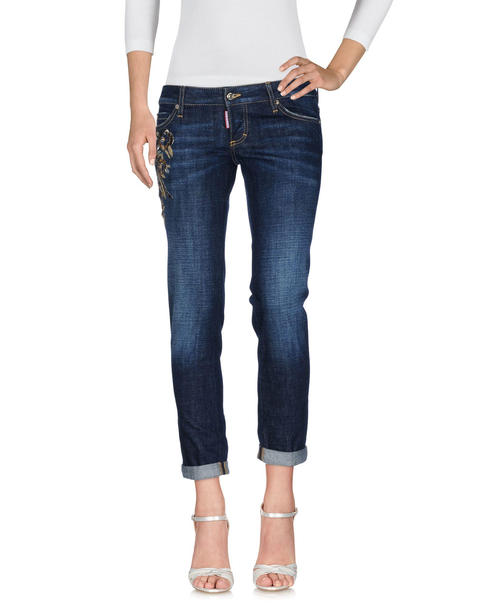 Pantaloni Jeans Dsquarot2 damen - 42637492IP
