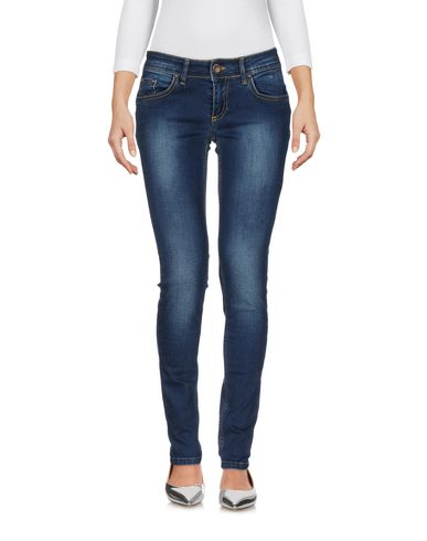 DENIM - Denim trousers Suerte 100% Authentic Sale Online bsuzBdx7s