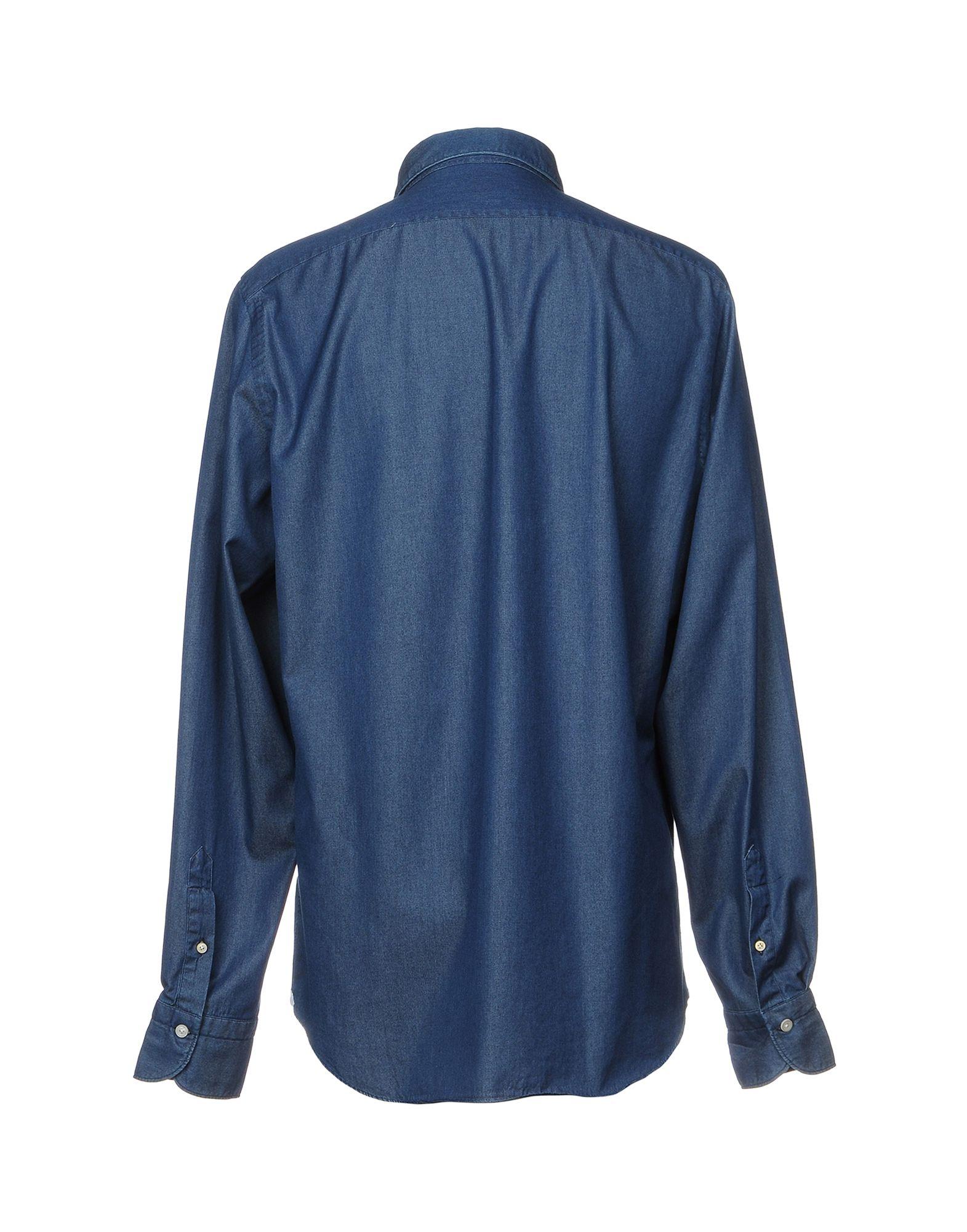 Camicia Jeans Finamore 1925 1925 Finamore Uomo - 42637866CR 1c26c4