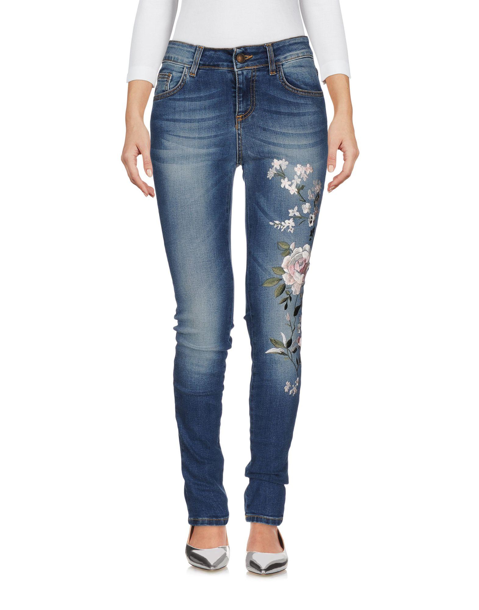 DENIM - Denim trousers Peacock Blue Discount Latest Cheap Very Cheap lwpl7PP