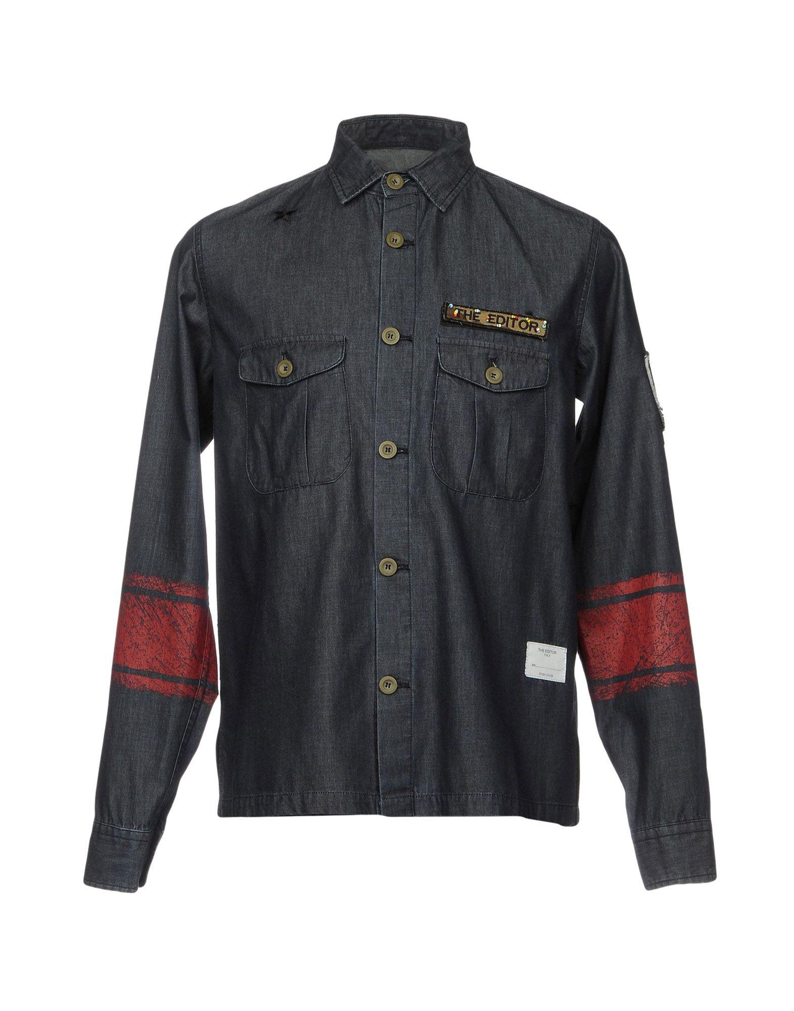 Camicia - Jeans The Editor Uomo - Camicia 42638883IT 814a0e