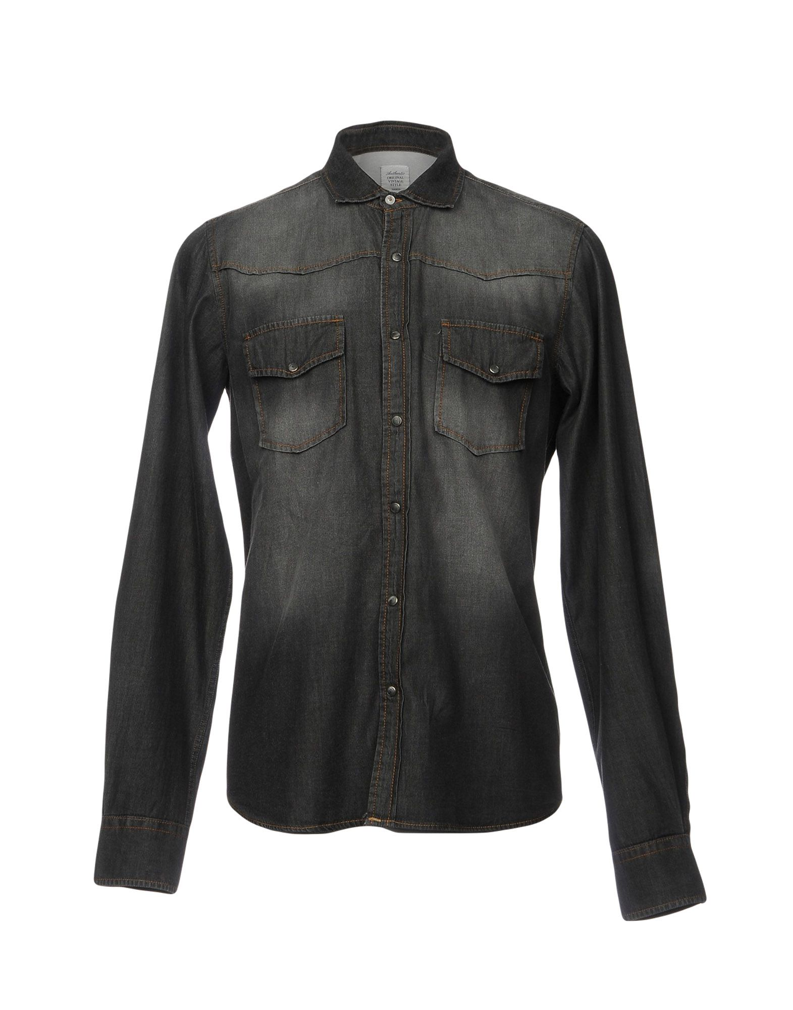 Camicia Jeans autentico Uomo Original Vintage Style Uomo autentico - 42639456SM 20afbd