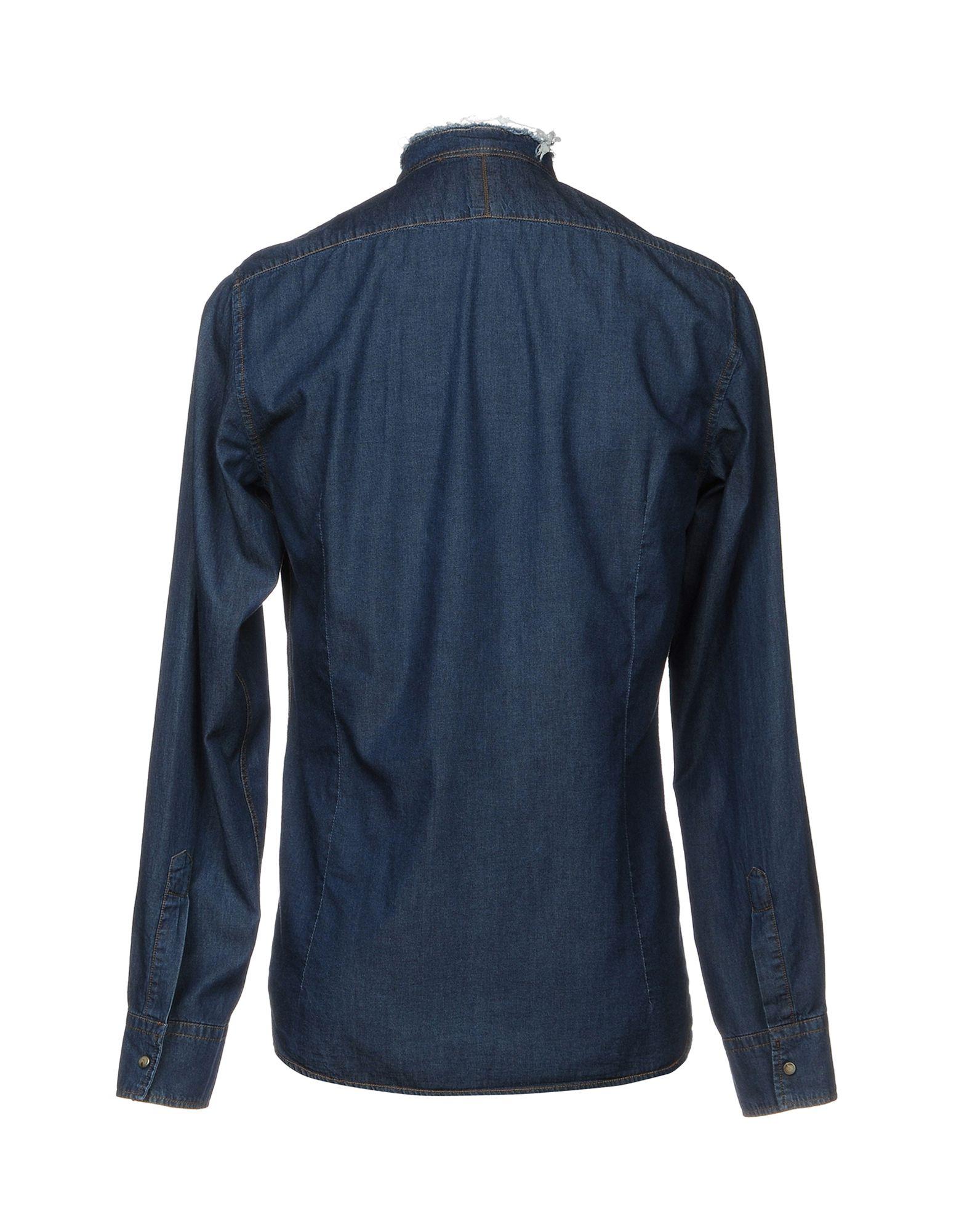 Camicia Jeans autentico Original Style Vintage Style Original Uomo - 42639463VI a2b888