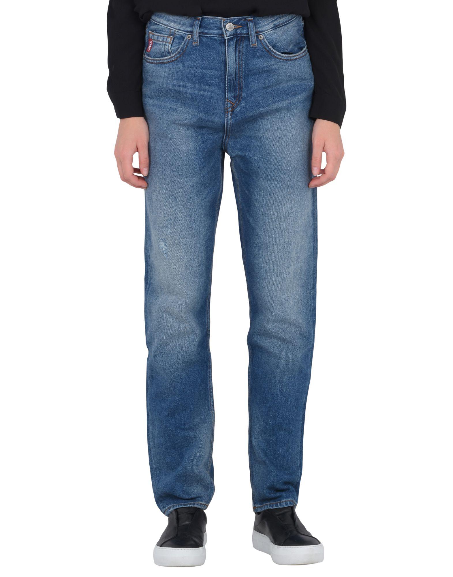 Vivienne Westwood Anglomania Skytte Jeans Med Wash - Denim Pants ... 67d8df715