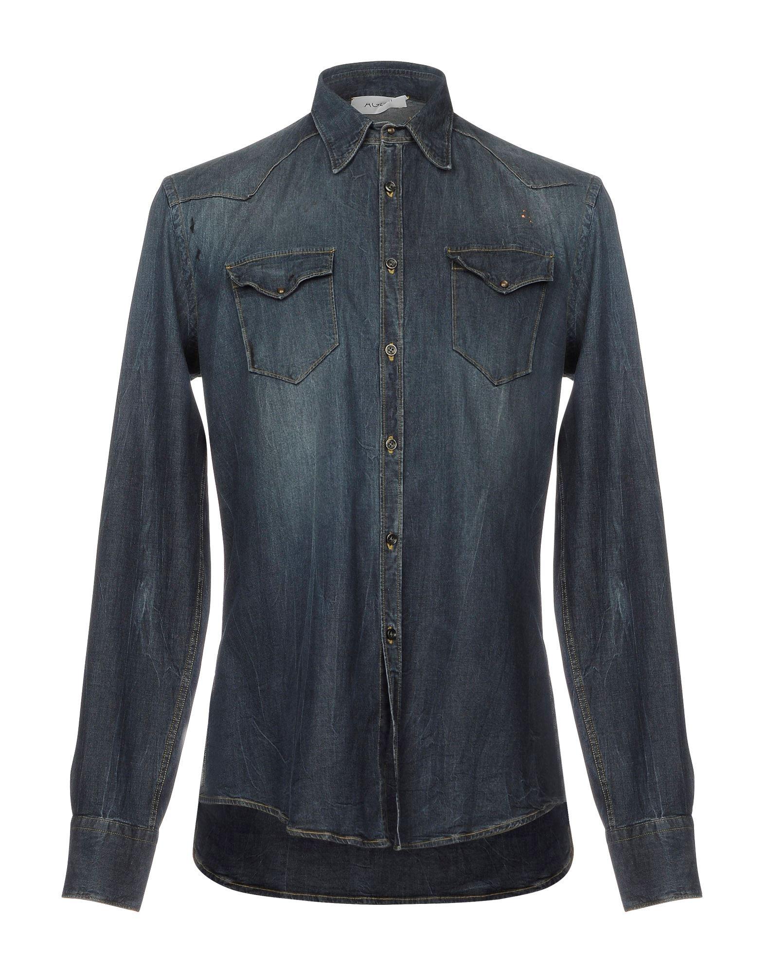 Camicia Jeans Aglini Uomo - Acquista online su